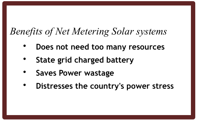 net metering solar power