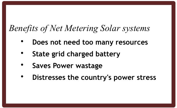 net metering solar power