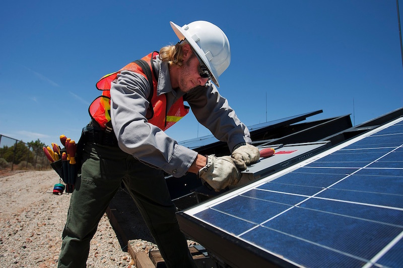 Improve efficiency before installing solar panels